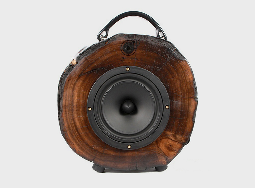 rockit-log-speaker-designboom-newsletter