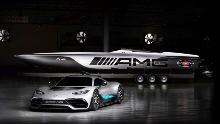 "515 Project One, una lancha ""estilo F1"" by Mercedes"